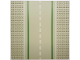 Part No: 80547pb01  Name: Baseplate, Road 32 x 32 7-Stud Straight with Road with White Sidelines Pattern