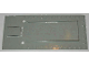 Part No: 820a  Name: Garage Floor Plate 8 x 18 - Old with Octagon Holes for Automatic Doors