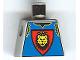 Part No: 973px118  Name: Torso Castle Knights Kingdom Vest, Shield and Lion Head Pattern