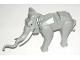 Part No: elephant1c02  Name: Elephant with White Tusks