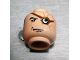 Part No: 3626bpb0178  Name: Minifigure, Head Glasses with Monocle (Strapped) and Scars Pattern (HP Mad-Eye Moody) - Blocked Open Stud
