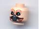 Part No: 3626bpb0250  Name: Minifigure, Head Alien with SW Ten Numb Pattern - Blocked Open Stud