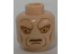 Part No: 3626cpb0551  Name: Minifigure, Head Alien with SW Saesee Tiin, Large Eyes and Cheek Lines Pattern - Hollow Stud
