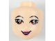 Part No: 36322  Name: Mini Doll, Head Friends with Brown Asian Eyes, Pink Lips and Open Mouth Pattern