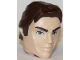 Part No: 37995pb01c01  Name: Large Figure Head Modified SW Han Solo Pattern
