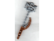 Part No: 50930pb01  Name: Bionicle Weapon Hordika Claw Club with Flat Silver Flexible End