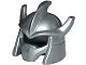 Part No: 12617  Name: Minifigure, Headgear Helmet Trident Shaped with Face Mask