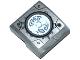 Part No: 15068pb028  Name: Slope, Curved 2 x 2 No Studs with Chima Emblem and Dark Bluish Gray Worn Pattern (Sticker) - Set 70223