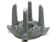Part No: 18165  Name: Minifigure, Headgear Crown with 4 Tall Spikes
