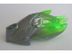 Part No: 24162pb06  Name: Bionicle Creature Head/Mask with Marbled Trans-Bright Green Pattern