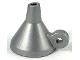 Part No: 45756  Name: Minifigure, Headgear Hat Made of Funnel with Ring Handle