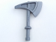 Part No: 51268  Name: Duplo Utensil Axe / Tomahawk with Tapered Round Handle Top and Solid Handle Bottom