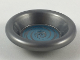 Part No: 6256pb06  Name: Minifigure, Utensil Dish 3 x 3 with Metallic Light Blue Swirl Pattern (HP Pensieve)