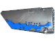 Part No: 64392pb007  Name: Technic, Panel Fairing #17 Large Smooth, Side A with Blue Milano Spaceship Pattern (Sticker) - Set 76021