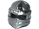 Part No: 98133pb10  Name: Minifigure, Headgear Ninjago Wrap with White Asian Character Pattern (Zane)