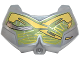 Part No: 98603pb012  Name: Large Figure Chest Armor Small with Green and Yellow Pattern
