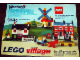 Set No: 00  Name: Weetabix Promotional Lego Village