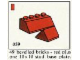 Set No: 059  Name: 49 bevelled bricks red plus one 10 x 10 stud base plate