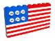 Set No: 10042  Name: American Flag polybag