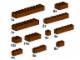 Set No: 10147  Name: Assorted Brown Bricks