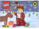Set No: 1076.1  Name: Advent Calendar 1999 (Day 10) Santa Minifigure