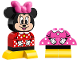 Set No: 10897  Name: My First Minnie Build