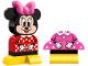 Set No: 10897  Name: My First Minnie Build