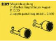 Set No: 1109  Name: Magnetic Couplings for Railway Car
