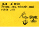 Set No: 1121  Name: Propellers, Wheels and Rotor Unit