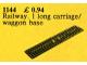 Set No: 1144  Name: Train Baseplate
