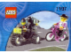 Set No: 1197  Name: Telekom Race Cyclist and Television Motorbike