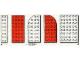 Set No: 1225  Name: Mixed Plates Parts Pack