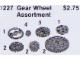 Set No: 1227  Name: Gear Wheel Assortment