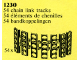 Set No: 1230  Name: Bulldozer Chain Links