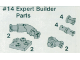 Set No: 14  Name: Expert Builder Parts