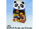 Set No: 1482  Name: Panda and Friends