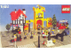 Set No: 1592  Name: Town Square - Castle Scene