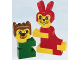 Set No: 1594  Name: Rabbit and Bear Friend