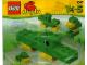 Set No: 1641  Name: Giddy the Gator polybag