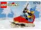 Set No: 1710  Name: Snowmobile polybag