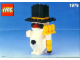 Set No: 1979  Name: Snowman polybag