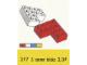 Set No: 217  Name: 4 x 4 Corner Bricks
