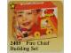 Set No: 2403  Name: Fire Chief Building Set