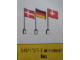 Set No: 242.2  Name: 6 International Flags -2-