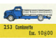 Set No: 253  Name: 1:87 Bedford Flatbed Truck