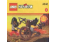 Set No: 2538  Name: Fright Knights Fire Cart
