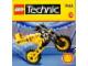 Set No: 2544  Name: Motorcycle