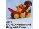 Set No: 2614  Name: Mother and Baby with Pram