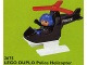 Set No: 2675  Name: Police Helicopter