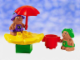 Set No: 2828  Name: Trouble Toadstool & Jungle Bluebell